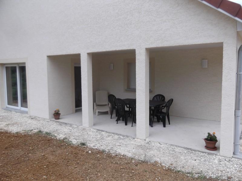 Terrasse couverte du gite